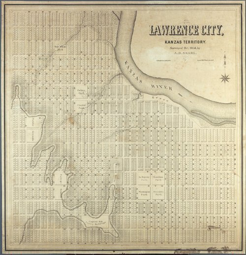 Lawrence City, Kanzas Territory - Page