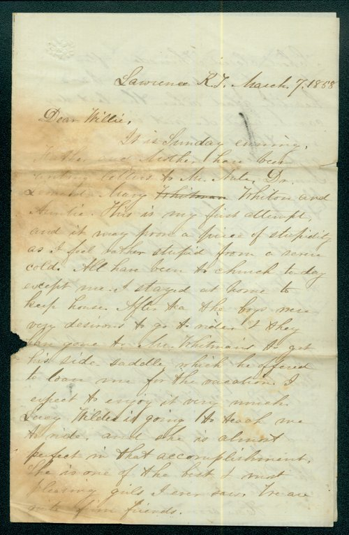 Sarah Brown to William Brown - Page
