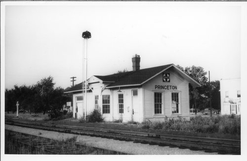 Atchison, Topeka & Santa Fe Railway Company depot, Princeton, Kansas - Page