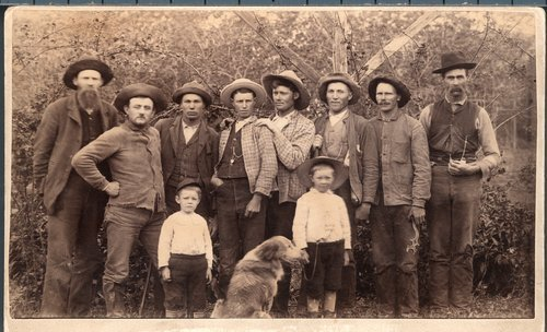 French farm laborers at Silkville, Kansas - Page