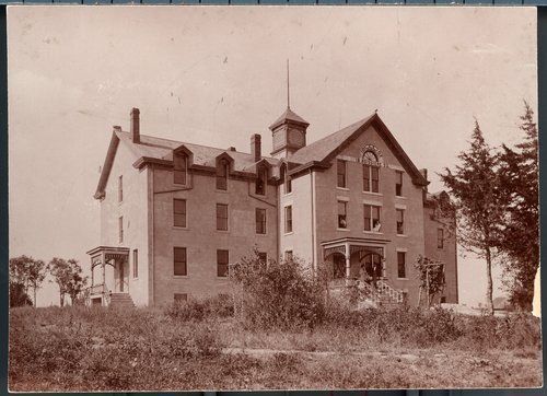 Odd Fellows orphans' home at Silkville, Kansas - Page