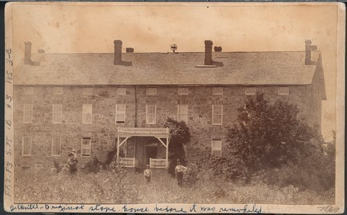De Boissiere's stone house and a harvest scene in Silkville, Kansas - Page