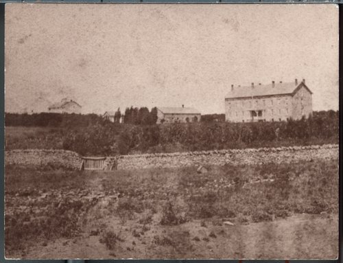 The original stone house at Silkville - Page