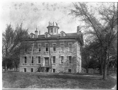 Tauy Jones Hall at Ottawa University - Page