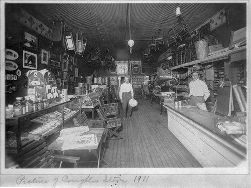 Coughlin's Store in Wellsville, Kansas - Page