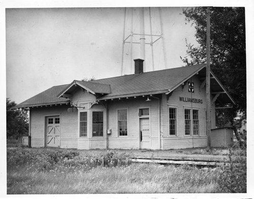 Atchison, Topeka and Santa Fe Railway Company depot, Williamsburg, Kansas - Page
