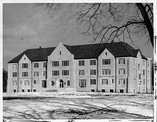 Ottawa University girls' dormitory - Page