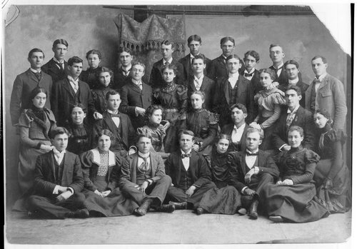 Ottawa University graduating class of 1901 - Page