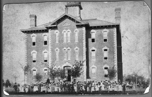 Students at Central School, Ottawa, Kansas - Page