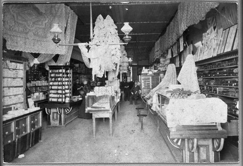 Hanes and Manning's Dry Goods store - Page