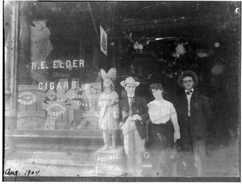 R. E. Elder Mercantile store - Page