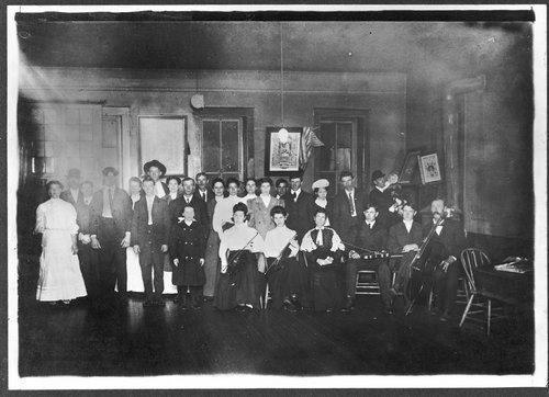 Dancers and musicians, Abbott's Hall, De Soto, Kansas - Page