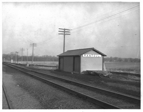 Missouri Pacific Railroad box depot, Rantoul, Kansas - Page