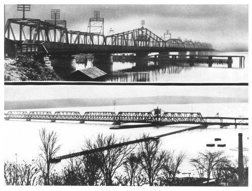 Atchison, Topeka & Santa Railway Company bridge, Fort Madison, Iowa - Page