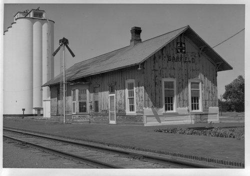 Atchison, Topeka and Santa Fe Railway Company depot, Garfield, Kansas - Page