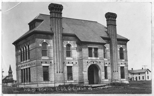 A public school, Garfield, Kansas - Page