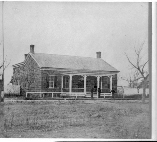 Commanding officer's residence at Fort Larned - Page