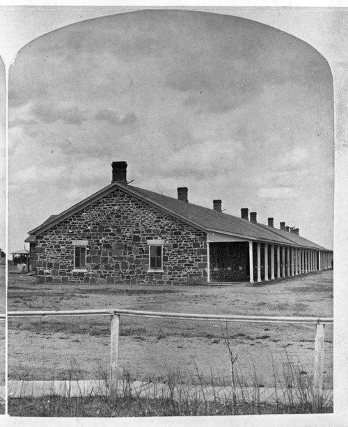 Fort Larned barracks - Page