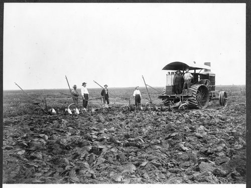 Plowing in Pawnee County, Kansas - Page