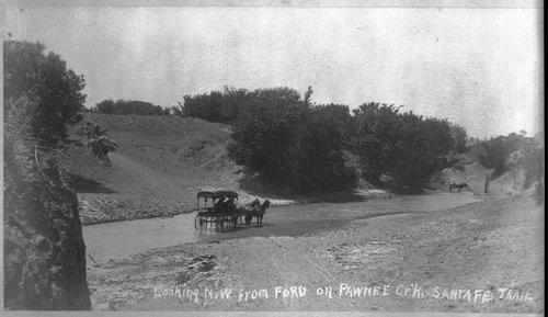 Waterways on Santa Fe Trail, Pawnee County, Kansas - Page