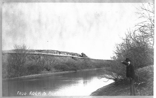 Frog Rock, Pawnee County, Kansas - Page