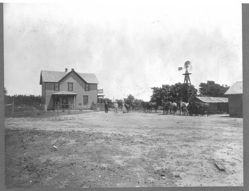 Farm houses in Pawnee County, Kansas - Page