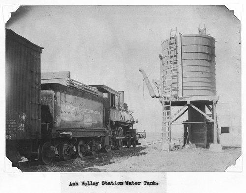 Railroad water tanks in Pawnee County, Kansas - Page