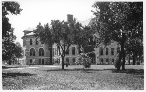 Administration building at Ottawa University - Page