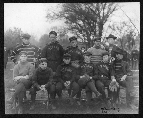 Ottawa University baseball team in Kansas - Page