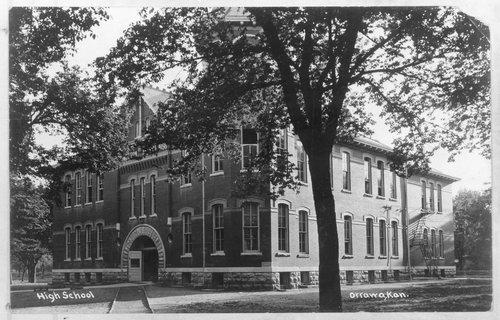 Three views of Washington School in Ottawa, Kansas - Page