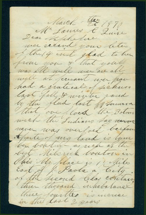 Joseph Harris to James C Quire - Page