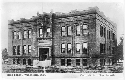 High school at Winchester, Kansas - Page