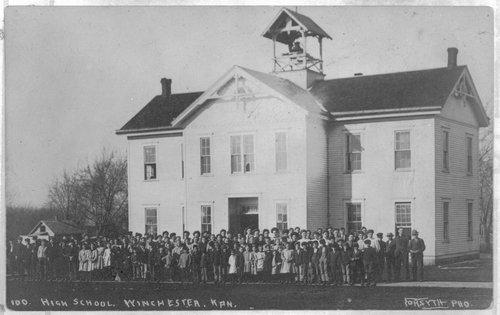High school, Winchester, Kansas - Page