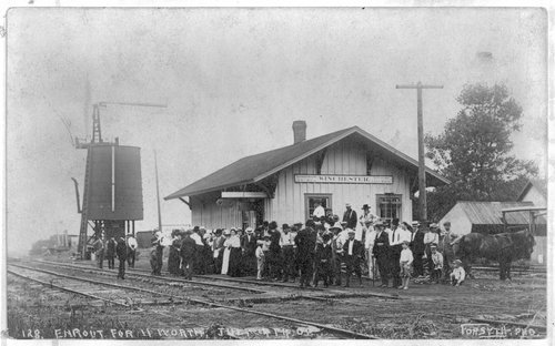 Union Pacific Railroad Company depot, Winchester, Kansas - Page