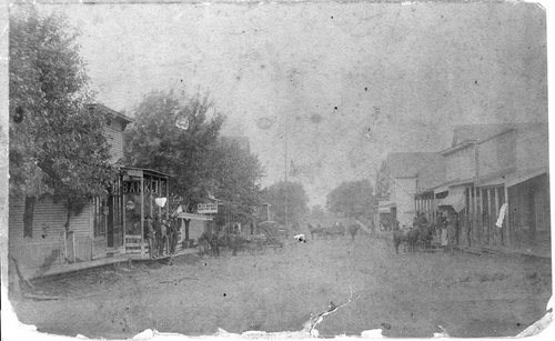 Main Street in Winchester, Kansas - Page
