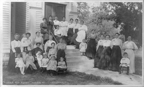 Christian Church Ladies Aid Society at Winchester, Kansas - Page