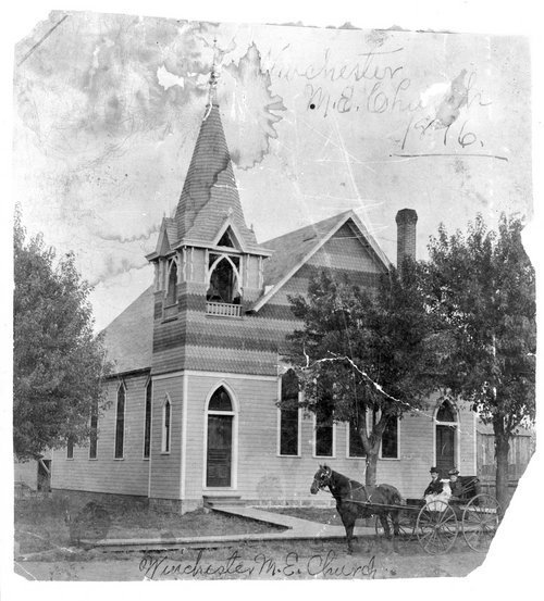 Methodist Episcopal Church, Winchester, Kansas - Page
