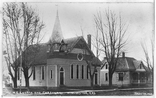 Methodist Episcopal Church and parsonage in Winchester, Kansas - Page