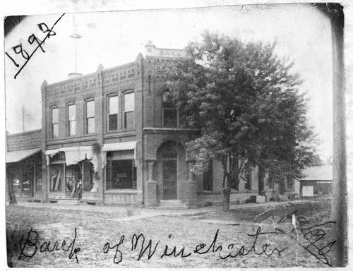 Bank of Winchester in Winchester, Kansas - Page