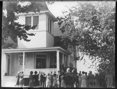 John Steuart Curry's funeral, Winchester, Kansas - Page