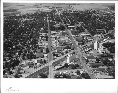 Larned, aerial view - Page