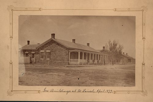 Officer's quarters at Old Fort Larned, Kansas - Page