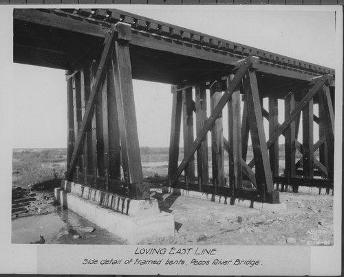 Atchison, Topeka & Santa Fe Railway Company bridge, Loving East Line, New Mexico - Page
