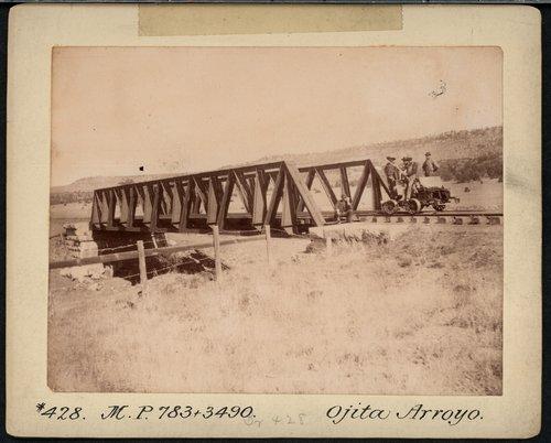 Atchison, Topeka & Santa Fe Railway Company bridge, Ojita Arroyo - Page