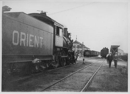 Kansas City, Mexico, & Orient Railway's freight station, San Angelo, Texas - Page