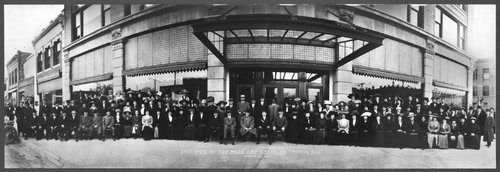 Employees of the Mills Dry Goods Company in Topeka - Page