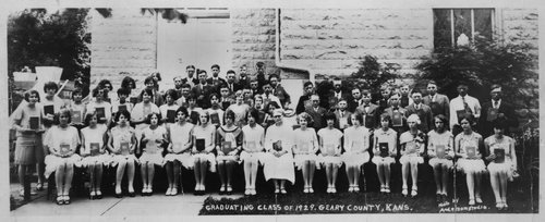 Graduating class of 1929 of Geary County - Page