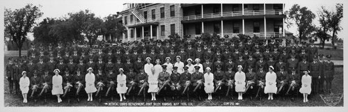 Medical Corps Detachment at  Fort Riley - Page