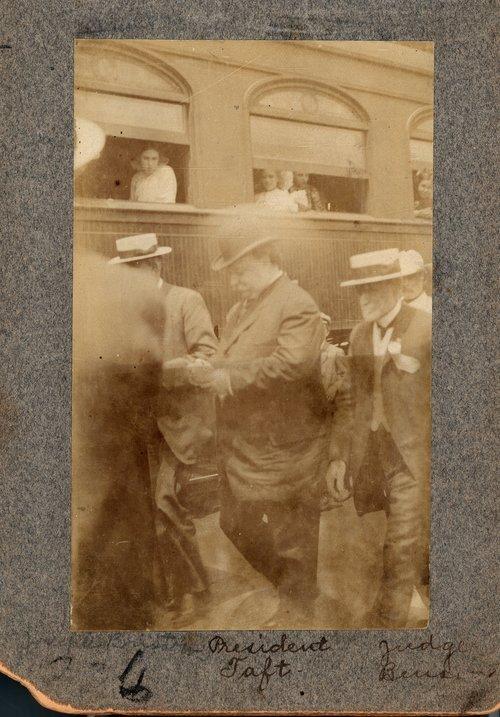 Secretary W.H. Taft visits Ottawa, Kansas - Page