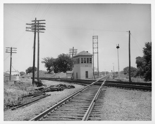 Atchison, Topeka and Santa Fe Railroad and Missouri Pacific Railroad intersection in Franklin County - Page